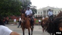 Протесты у Белого Дома