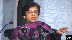 پاکستانی دفتر خارجہ کی ترجمان تہمینہ جنجوعہ