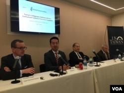 全球台灣研究中心與美台商業協會舉行美台國防產業合作研討會(美國之音鐘辰芳拍攝)