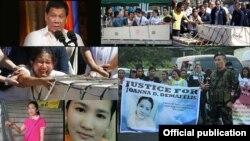သမၼတ Duterte ေဒါသအုိးေပါက္ကဲြေစခဲ့တဲ့ ဖိလိပုိင္အိမ္အကူ အသတ္ခံရမႈ