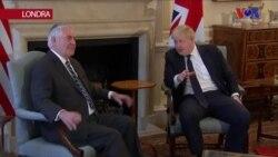 Tillerson: 'Türkiye'nin Meşru Güvenlik Kaygılarını Giderme Yollarına Bakıyoruz'