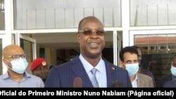 Nuno Gomes Nabiam, primeiro-ministro da Guiné-Bissau