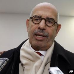 L'ancien directeur général de l'AIEA, Mohamed ElBaradei