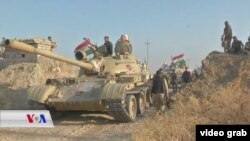 Mosul Operation - Peshmarge Forces