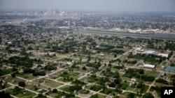 受卡特里娜颶風重創十年後的新奧爾良