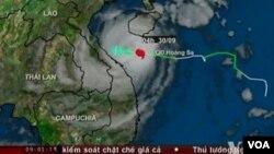 Topan Wutip dengan kecepatan 100 kilometer per jam dilaporkan telah menghancurkan sekitar 100.000 rumah di Vietnam, Selasa (10/1).