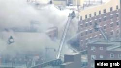 Estados Unidos, Nova Iorque, Explosão de prédio em Manhattan
