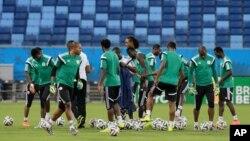 La sélection nigeriane de football, les Super Eagles