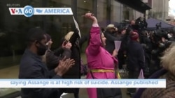 VOA60 Ameerikaa - British Judge Rejects US Extradition Request for WikiLeaks Founder