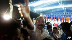 ປະທານາທິບໍດີ Daniel Ortega ແຫ່ງນີກາຣາກົວ. ວັນທີ 7 ພະຈິກ 2011.