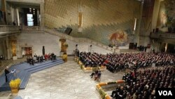 Komite Nobel di Norwegia masih merahasiakan daftar nominasi Hadiah Perdamaian untuk tahun ini.