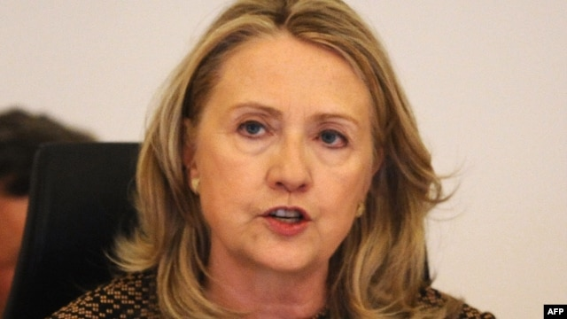 US Secretary of State Hillary Clinton, June 7, 2012.