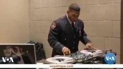 Un Policier disc jockey