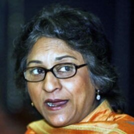 Pakistani human rights lawyer and Special Rapporteur on Freedom of Religion of the UN Human Rights Council Asma Jahangir (File)