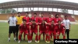 عکس از تیم ملی فوتبال افغانستان