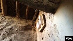 Electrcity meters in Timbuktu. (Photo: Katarina Hoije / VOA )