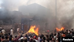 2013ء میں لاہور میں مسیحیوں کی بستی کو مشتعل ہجوم نے نذر آتش کر دیا تھا۔