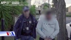 Chiến dịch truy quét Mỹ-Úc bắt hàng trăm tội phạm băng đảng toàn cầu