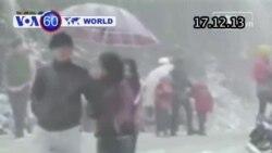 Tuyết rơi ở Sapa lần đầu tiên sau nhiều thập kỷ (VOA60)