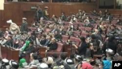 دیدار رئیس جمهور افغانستان با شماری از اعضای ولسی جرگه