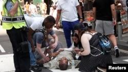 پولیس شهر نیویارک گفته است که احتمالاً این رویداد به کدام حملۀ دهشت افگنی ربطی ندارد.