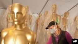 Холивуд се подготвува за Оскарите