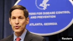 FILE - Dr. Thomas R. Frieden, Director of the Centers for Disease Control and Prevention.