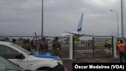 Precauções no Aeroporto Internacional de São Tomé e Príncipe devido ao coronavírus