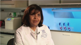 Dr. Deborah Persaud is an infectious disease specialist at Johns Hopkins Children's Center.