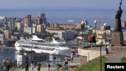 俄羅斯城市符拉迪沃斯托克(海參崴)。
