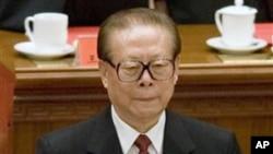 中國前國家主席江澤民(資料圖片)