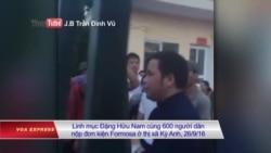 1000 ngư dân Nghệ An tiếp tục kiện Formosa