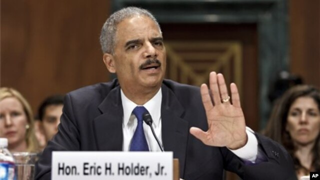 US Attorney General Eric Holder Jun 12, 2012