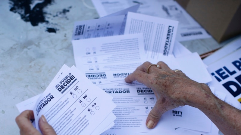 Неофициальный референдум в Венесуэле показал широкую поддержку оппозиции