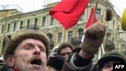 Антиправительственный митинг (архивное фото)