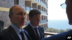 Putin in Crimea