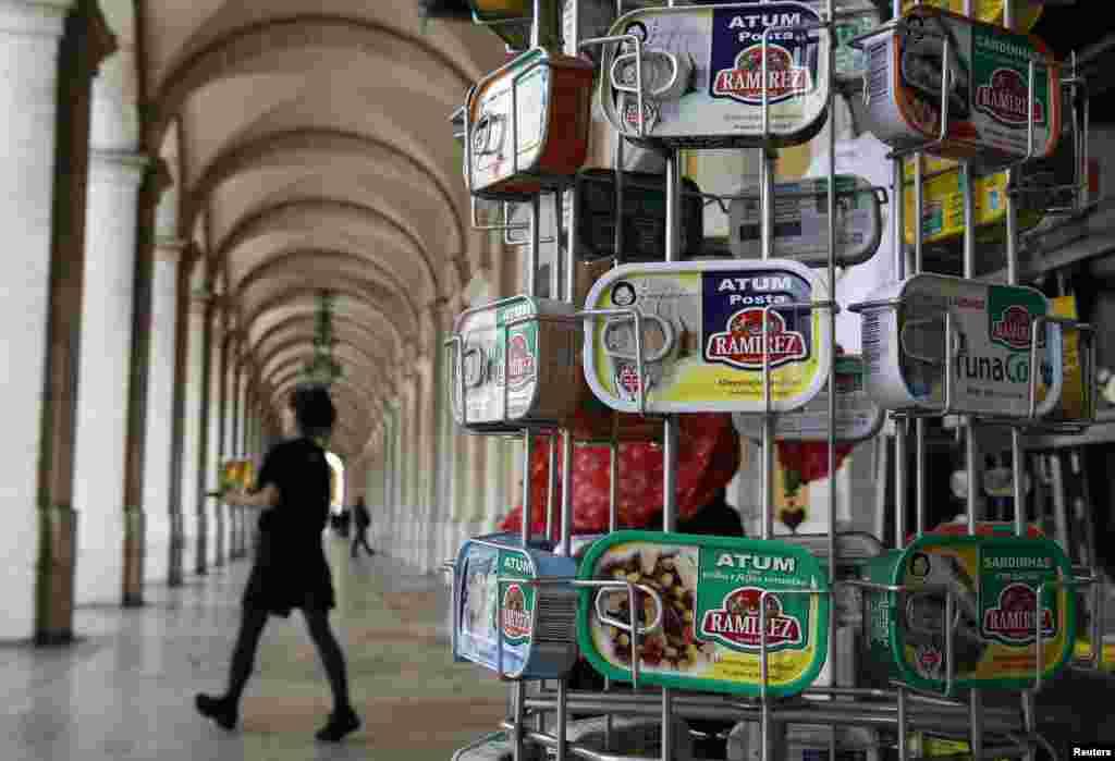 پرتگال سے دنیا کے 70 ممالک کو ڈبہ بند مچھلی برآمد کر دی جاتی ہے۔