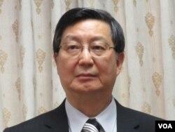 台湾经济部次长卓士昭(美国之音张永泰拍摄)