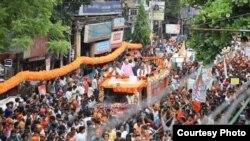 Clash at Vidyasagar College