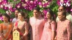 Quý tử của người giàu nhất Ấn Độ cưới vợ