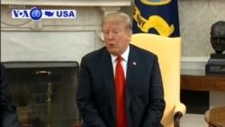 VOA60 America - Trump Vetoes Measure to End US Involvement in Yemen War