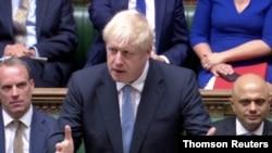 2019, Londra, İngiltere, Başkan Boris Johnson