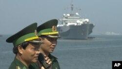 越南邊警為美國軍艦進入峴港作準備