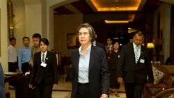 Yanghee Lee ရဲ႕ ျမန္မာခရီးစဥ္ စတင္