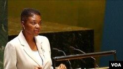 Kepala Urusan Kemanusiaan PBB , Valerie Amos, prihatin dengan kondisi di Korea Utara yang kekurangan pangan (foto: dok).