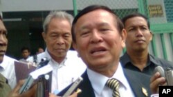 Human Rights Party President Kem Sokha.