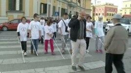 Shqipëri: Ndërgjegjësim për të verbrit