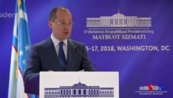 O'zbekiston prezidenti matbuot kotibi brifingi - Mirziyoyevning AQShga tashrif jadvali