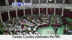 VOA60 Africa - Tunisia celebrates the fifth anniversary of revolt that overturned the regime of Ben Ali