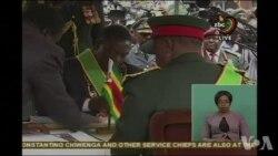 Mnangagwa succède officiellement à Mugabe au Zimbabwe (vidéo)